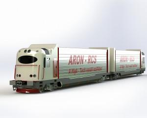 9. ábra Vezérlőkocsi - Dízel aggregátos gépes-kocsi pár