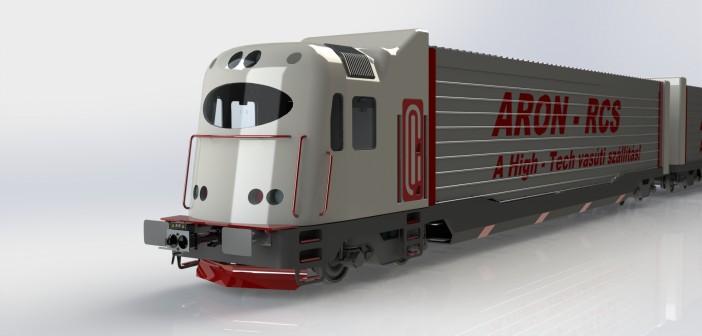 ARON-RCS – Az Integrált Vasúti Konténerszállítási Rendszer